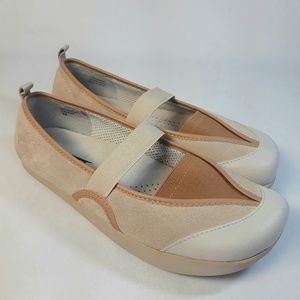 Earth Kalso Intrigue Suede Mary Jane Flats 7B